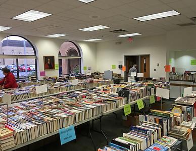 Patrick Henry Library Book Sale, April 2016