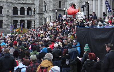 Pipeline Parliament demonstration