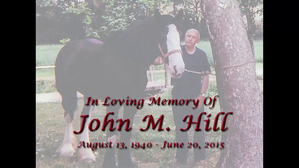 "John was well known and loved by many near and far.  Images were contributed by family and friends. Most were aged to varying degrees, all required some enhancing.   Background music, #111 ""He Will Call', Piano accompaniment from jw.org."