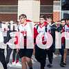 The Argyle Eagle football team walks their way into the Regional Quarter-finals in a school wide clap-out on December 6, 2019. (Katie Ray | The Talon News)