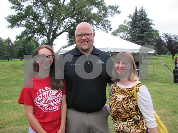 Diandra, Todd, and Joyce McCubbin.