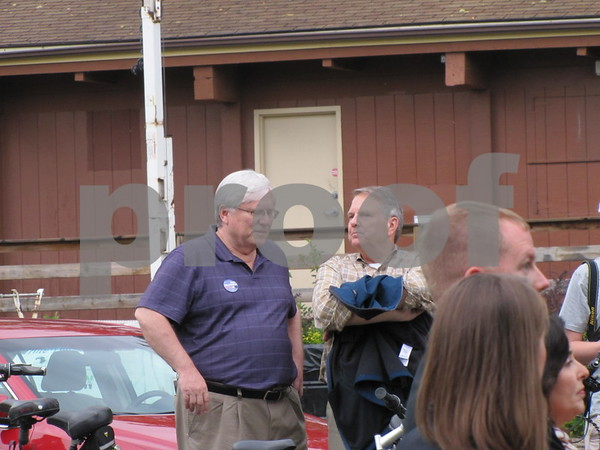 Rod Halverson and Daryl Beall attended the Celebration of Trails.