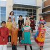 Students from the Hindi program.