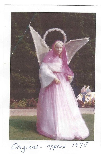 Original angel, circa 1975