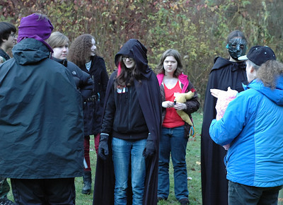 TEENWrite weekend retreat facilitated by Author Katherine Grace Bond.  ~ Using the idea of a larger-than-life Live-Action Role-Playing Game to teach young adults writing skills through the Hero's Journey.  .. (c) photos by Heidi Pettit