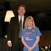 Superintendent and honored volunteer.