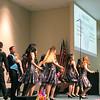 Trinity show choir performing.