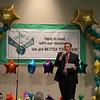Superintendent Steve Chapman giving speech.