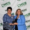L.D. Bell High School with an award for a high number of campus sponsors.