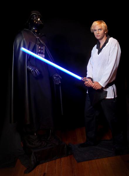 7. Luke Skywalker and Darth Vader