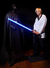 7.  Luke Skywalker and Darth Vadar