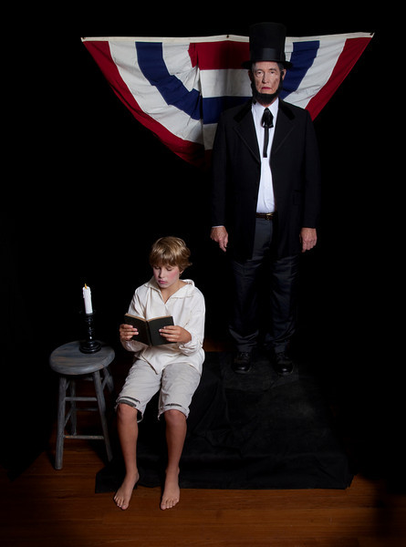 4. Abraham Lincoln and Young Abe