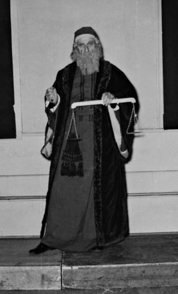 Shylock<br /> Frank Barnes?