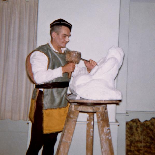Sculptor, George Demetrios?