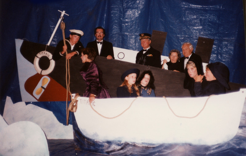 Final Tableau  The Sinking of the Titanic