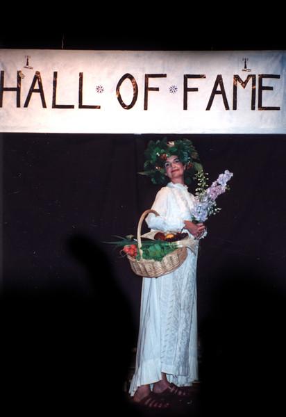 Final Tableau:  Hall of Fame