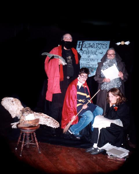 Harry Potter<br /> Harry: Tyler Cox/Ben Foley; Wizard: Norris Marston; Dumbledore: Bob Griffith