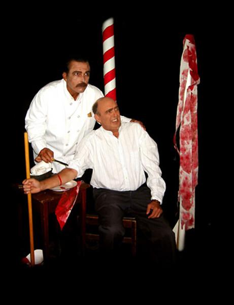 19th Century Barber & Patient
