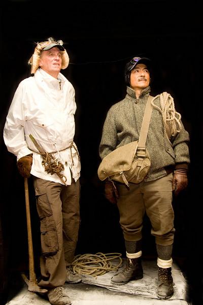 Sir Edmund Hillary and Tenzing Norgay