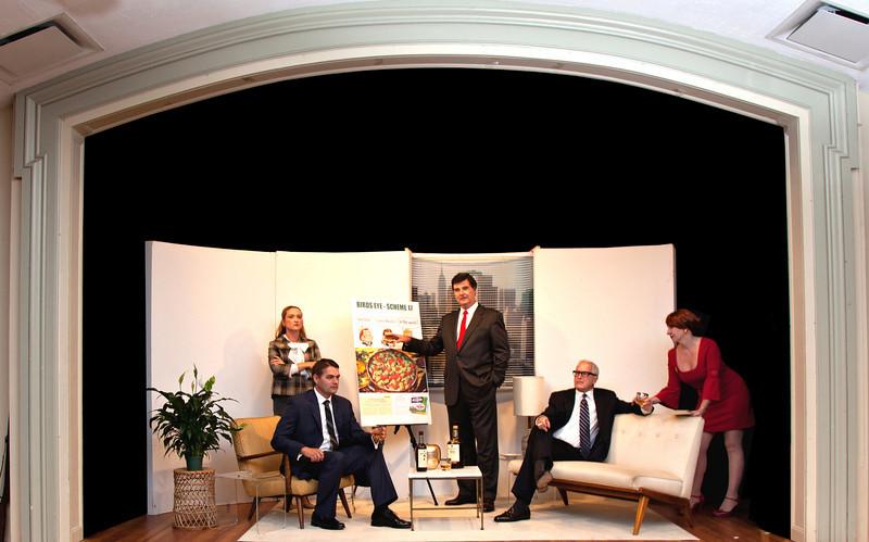 Mad Men 1; Paul Lundberg, Dick Carlson, Lauren Ashley Suchecki, Maureen Wilson, David Gordon