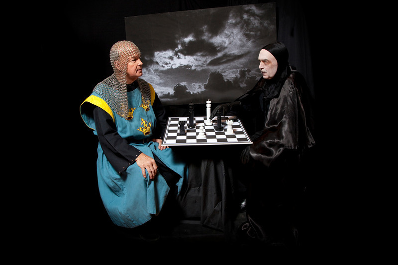 Seventh Seal  - Death and the Medieval Knight<br /> Dudley Blodget and Peter Kutner