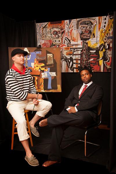 Picasso & Basquiat<br /> Michael Kutner & Lyden Marcellot