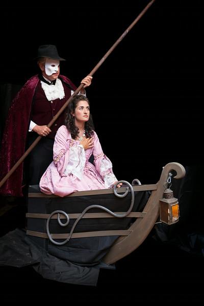 Phantom of the Opera<br /> Phantom: Chris Sprague<br /> Christine Daae:  Cathy Fenollosa