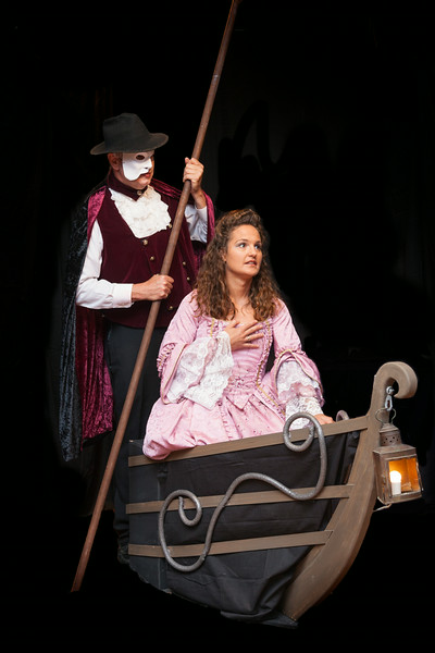 Phantom of the Opera<br /> Phantom: Chris Sprague<br /> Christine Daae:  Blaire Bernard