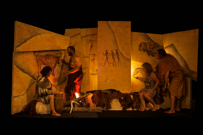 Cave Painting<br /> Cave Person: Sila King<br /> Cave Person: Matt Treat<br /> Cave Person: Holly Treat<br /> Cave Person: John Feeley/Josh Fenollosa
