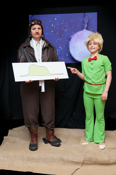 The Little Prince<br /> Aviator: Linda Gifford<br /> Little Prince: Sarah DeGeus