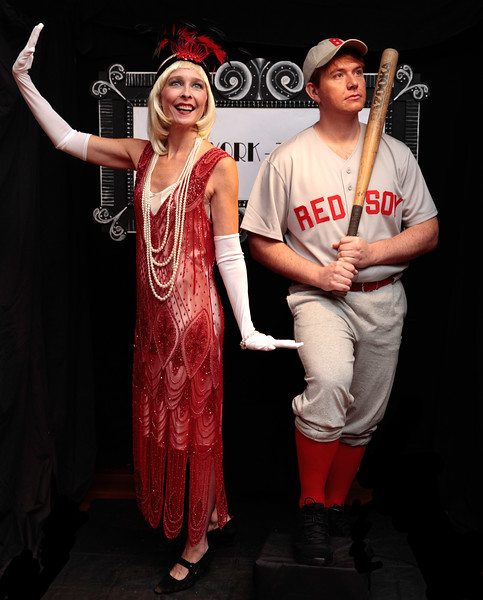 Babe Ruth and  Flapper