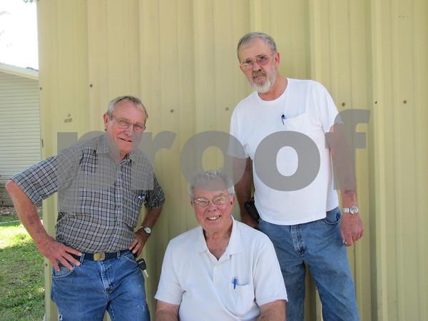 Denny Amman, Bob Warland, and Gene VanGrevenhof.