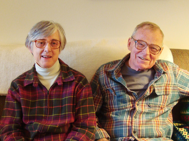 "The new owners of 314 Yellowstone Place are <i><b>Wendell and Barbara Gauger</b></i>.  Wendell is a native Nebraskan who retired in 1992 as Professor of Biology at the University of Nebraska-Lincoln.  He has four children and nine grandchildren.  Barbara's home was Cedar Rapids, Iowa, and she recently retired as an Associate Professor/science-reference librarian at USD in Vermillion.  They enjoy reading, camping, and riding bikes.  Wendell has a ""light touch"" when it comes to baking; Barbara also enjoys baking -- and kntting and quilting!"