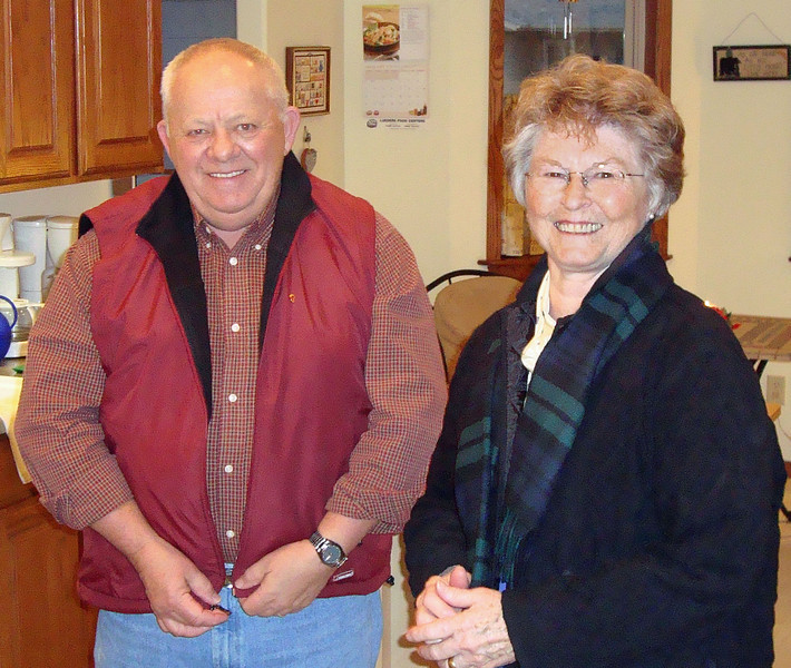 Ray and Yvonne Bender.<br /> <br /> Miller Open House - January 11, 2009