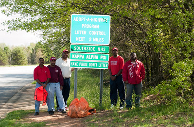2012 Adopt A Highway Cleanup