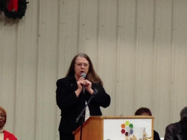 2014 Kappa Co-Sponsor Greenville County Recreation Department Annual Senior Citizen Luncheon