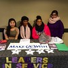 UAlbany's Leaders in Service branch of Residential Life host a dining hall collection table for Make-A-Wish Foundation of Northeast New York.