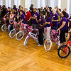 UAlbany's Division for Student Success takes time to build bikes for a local community group.  Photographer: Brian Busher
