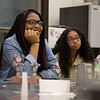Students participate in the summer Eureka! Program at the University at Albany to encourage girls from Girls, Inc. in STEM. (photo by Patrick Dodson)