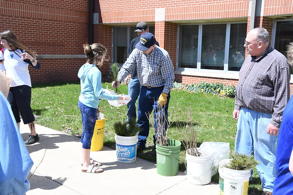 Arbor Day at NBE