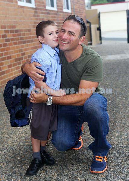 1-2-13. Back to school 2013. Kessar Torah College, Sydney. Photo:  Ingrid Shakenovsky