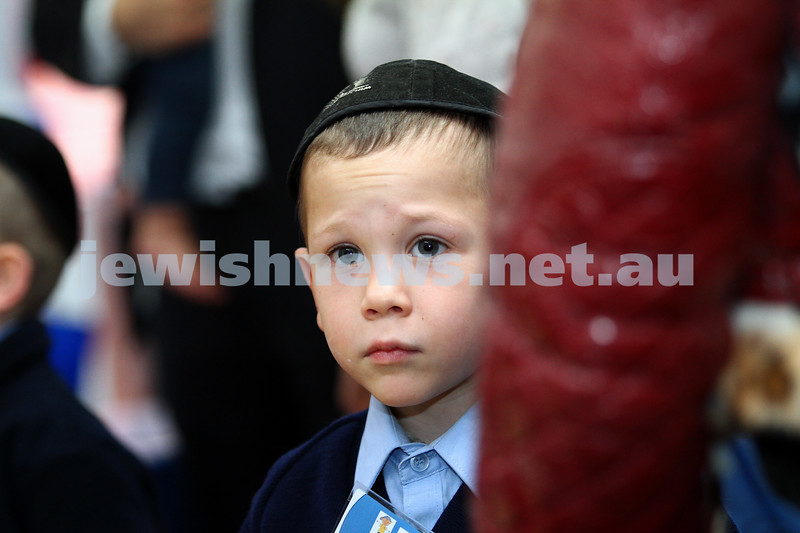 1-2-13. First day of school at Yeshivah College and Beth Rivkah.  Photo: Peter Haskin