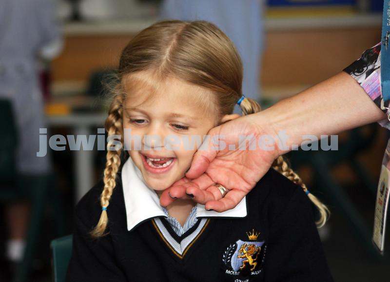 1-2-2013. Back to School. Eve Bellelli. <br /> Mount Scopus, Fink Karp Ivany Campus. Photo: Lochlan Tangas