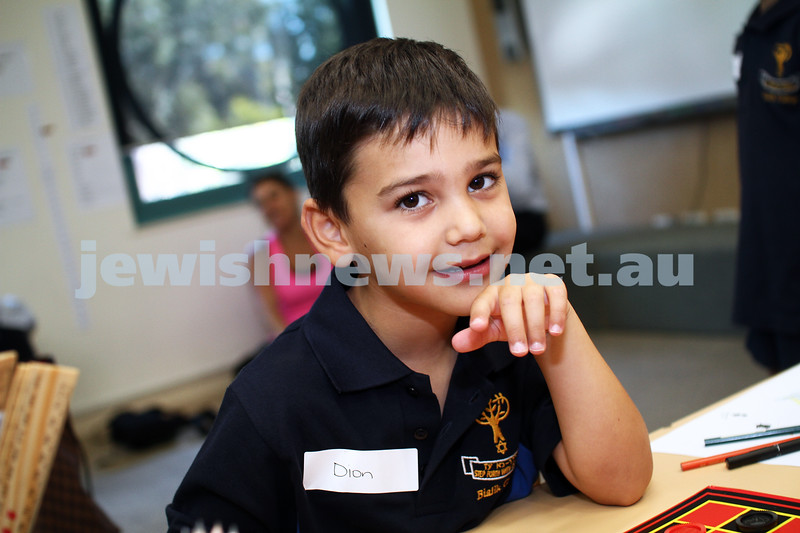 6-2-13. First day of school for preps at Bialik College. Photo: Peter Haskin