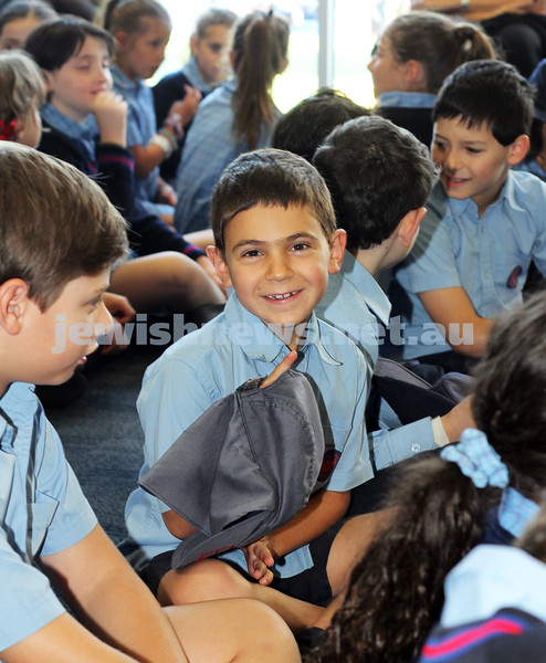 1-2-12. First day of school at Sholem Aleichem College. Photo: Lochlan Tangas.