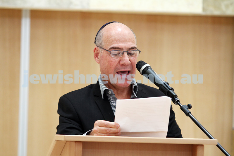 16-12-12. Official opening of the new Central Shul Chabad. Photo: Peter Haskin