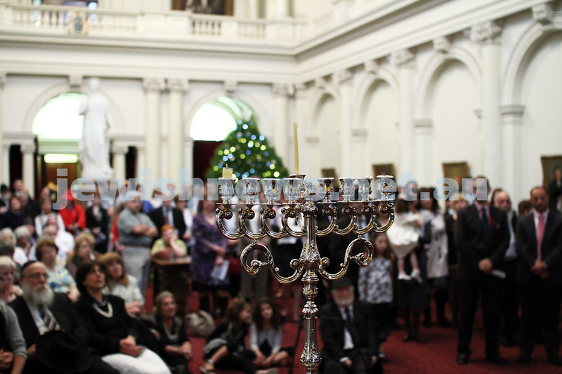 Chanukah at Queens Hall, Parliament House 2011. Photo: Peter Haskin