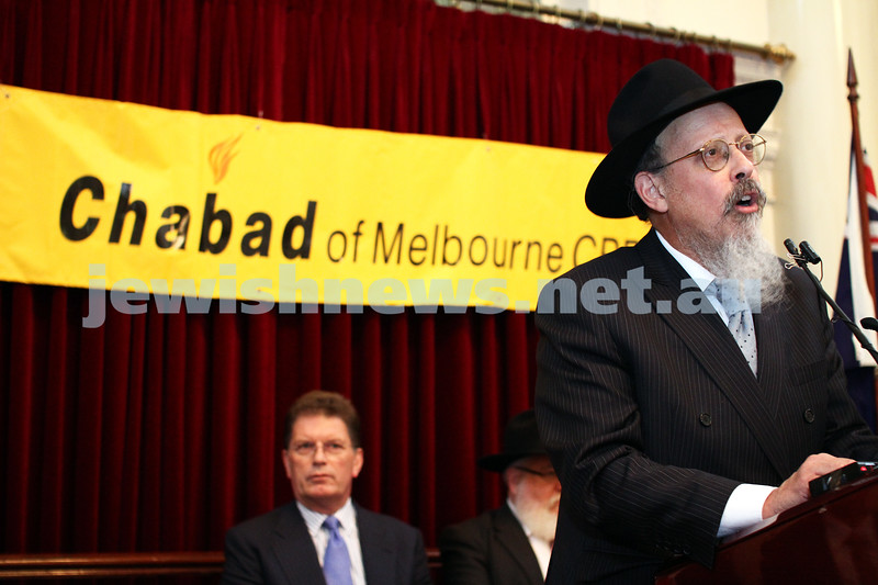 Chanukah at Queens Hall, Parliament House 2011. Shimon Cowen. Photo: Peter Haskin