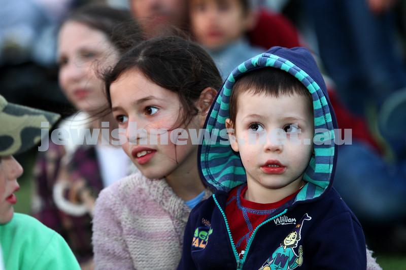 9-12-12. Chanukah in the Park 2012. Caulfield Park. Photo: Peter Haskin