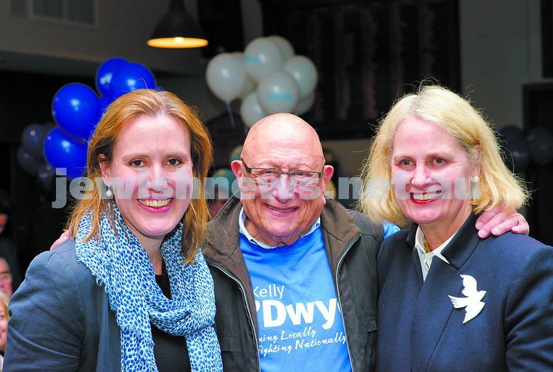 7-9-13. Election night 2013. Kelly O'dwyer, member for Higgins. Photo: Ren Rizzolo